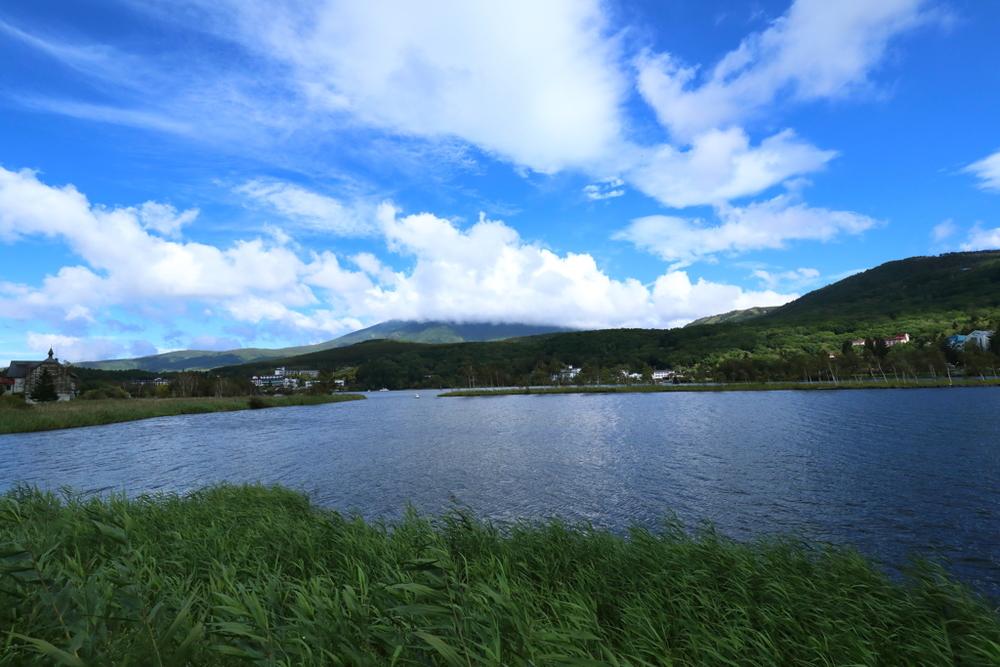 大門街道 白樺湖 バイク ツーリングスポット 長野県 Shiori